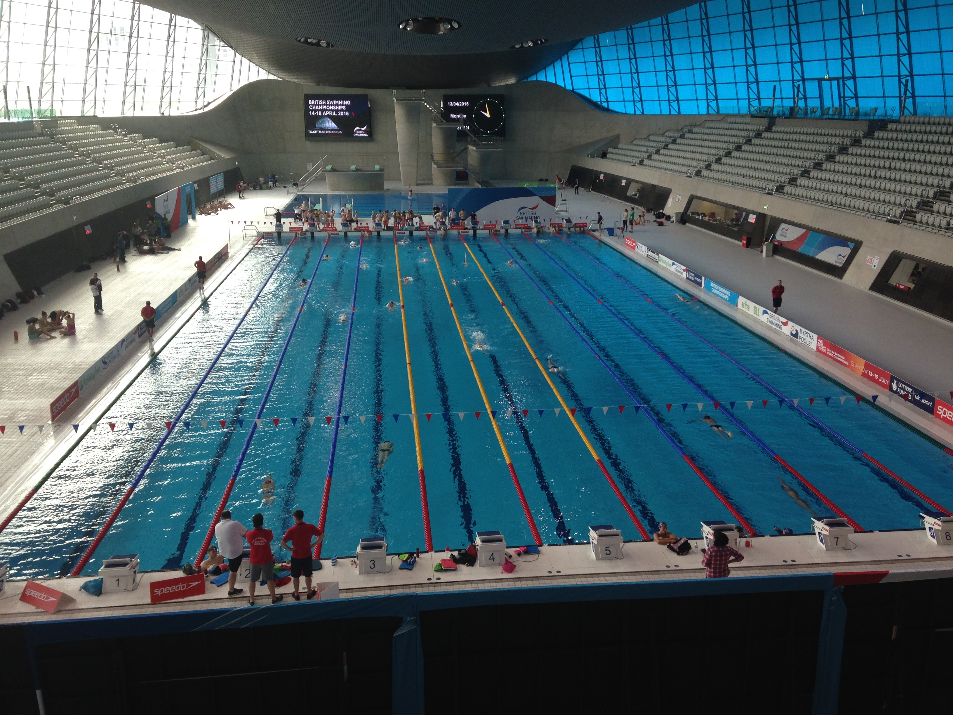 British swimming championships 2015 chester le street asc for Chester le street swimming pool