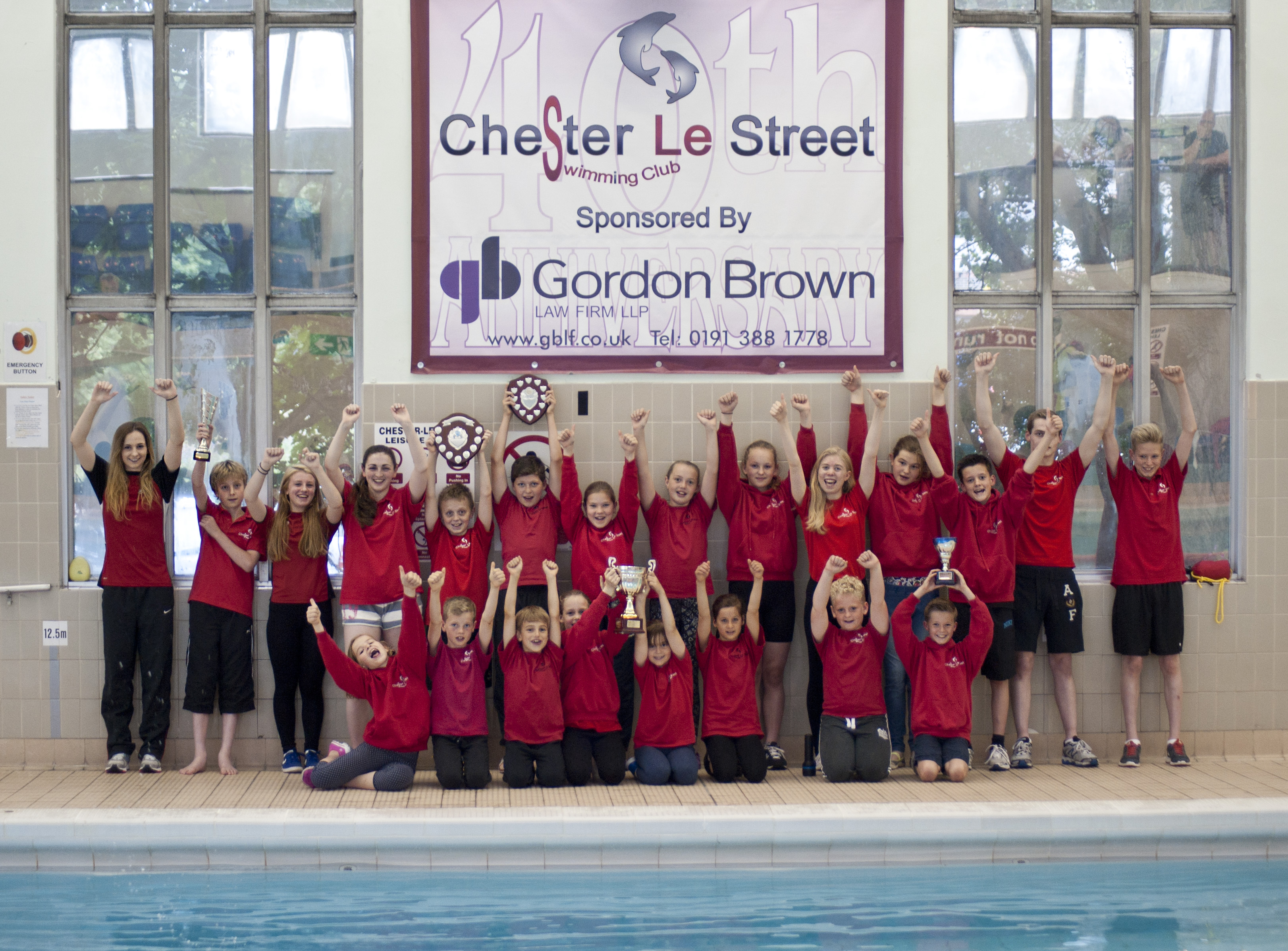 Law firm goes in at the deep end chester le street asc for Chester le street swimming pool